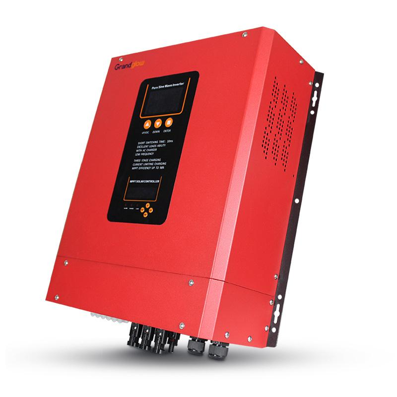 5KW OFF GRID INVERTER WITH BUILT IN MPPT SOLAR CHARGE CONTROLLER